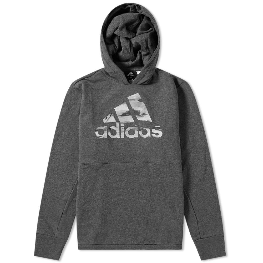 34b0654b5c34 Adidas x Undefeated Tech Hoody Dark Grey Heather