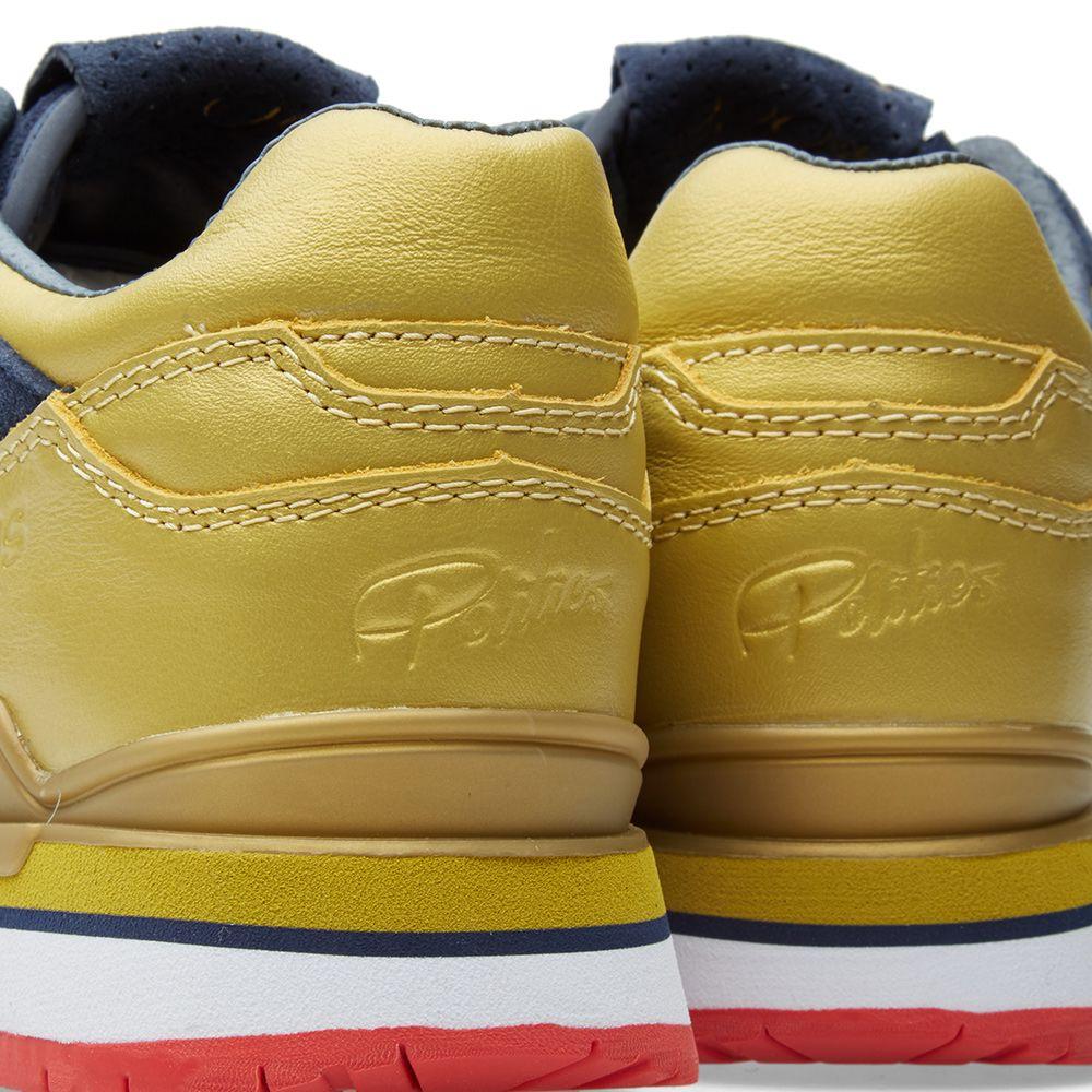 new arrival 0a4fc 63e29 Saucony x Sneaker Politics Courageous The Jackson Navy  Gold
