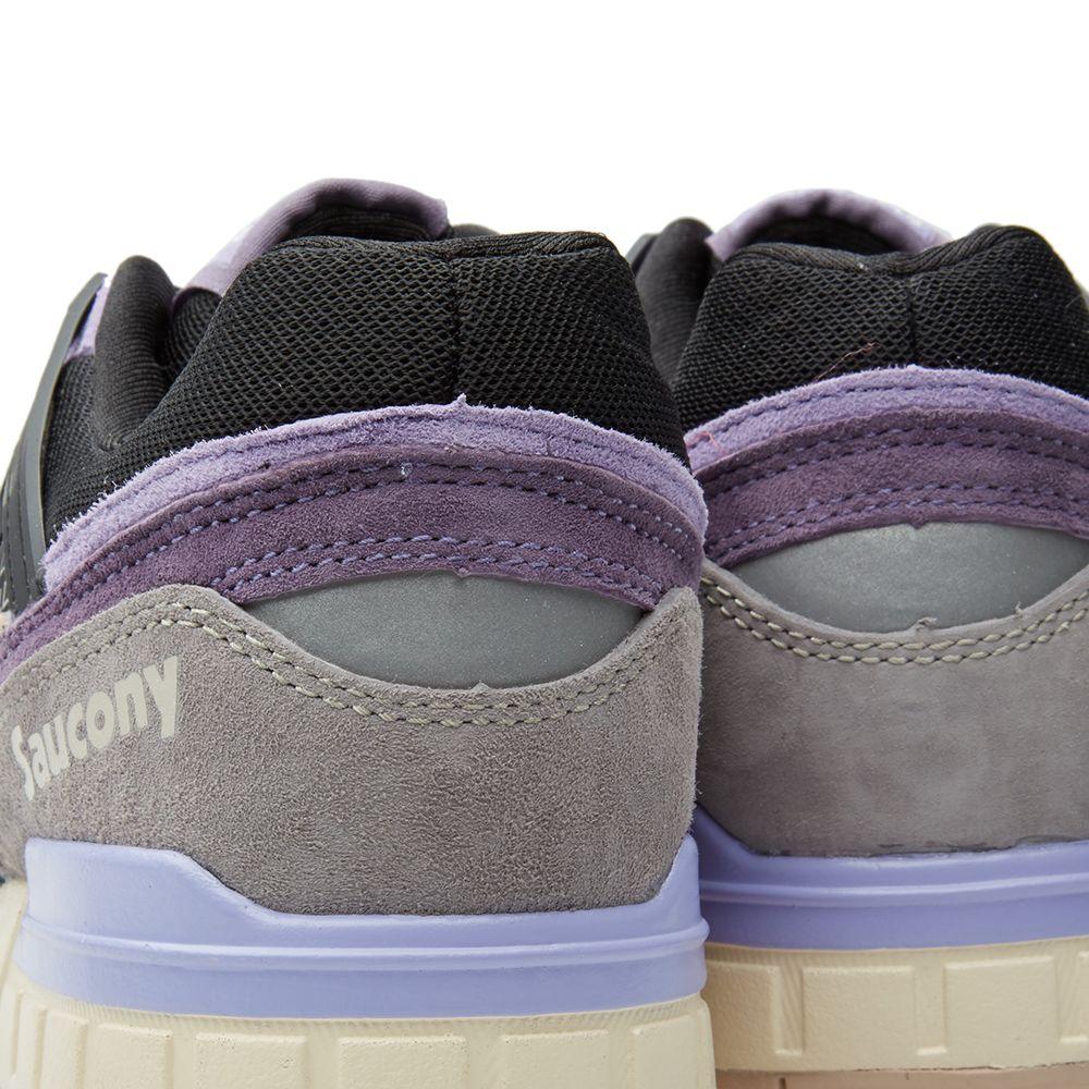 buy popular ebc6f 67bdc Saucony x Sneaker Freaker Grid SD Kushwacker Purple  Black