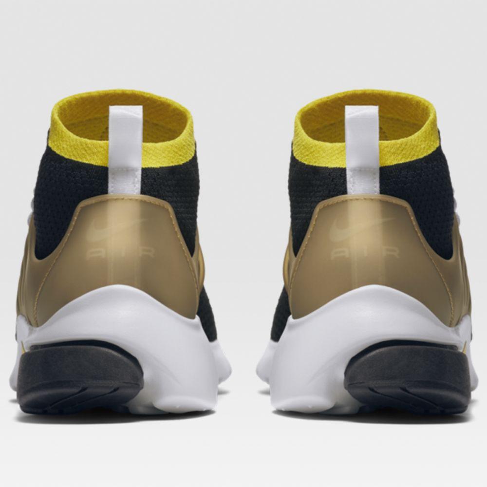 1ea686bc09af Nike Air Presto Ultra Flyknit Black   Yellow Strike