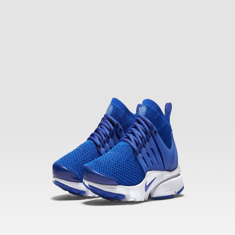0035ca74337d Nike Air Presto Ultra Flyknit Racer Blue   White
