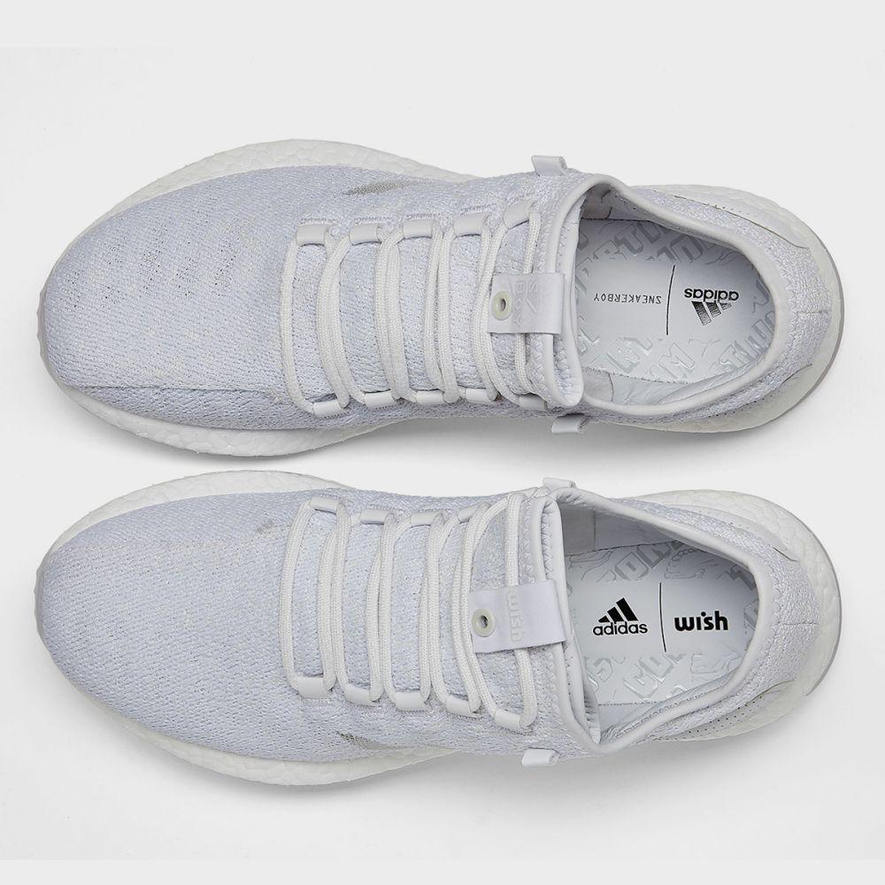 separation shoes fec47 d839a Adidas x Sneaker Boy x Wish PureBoost. White