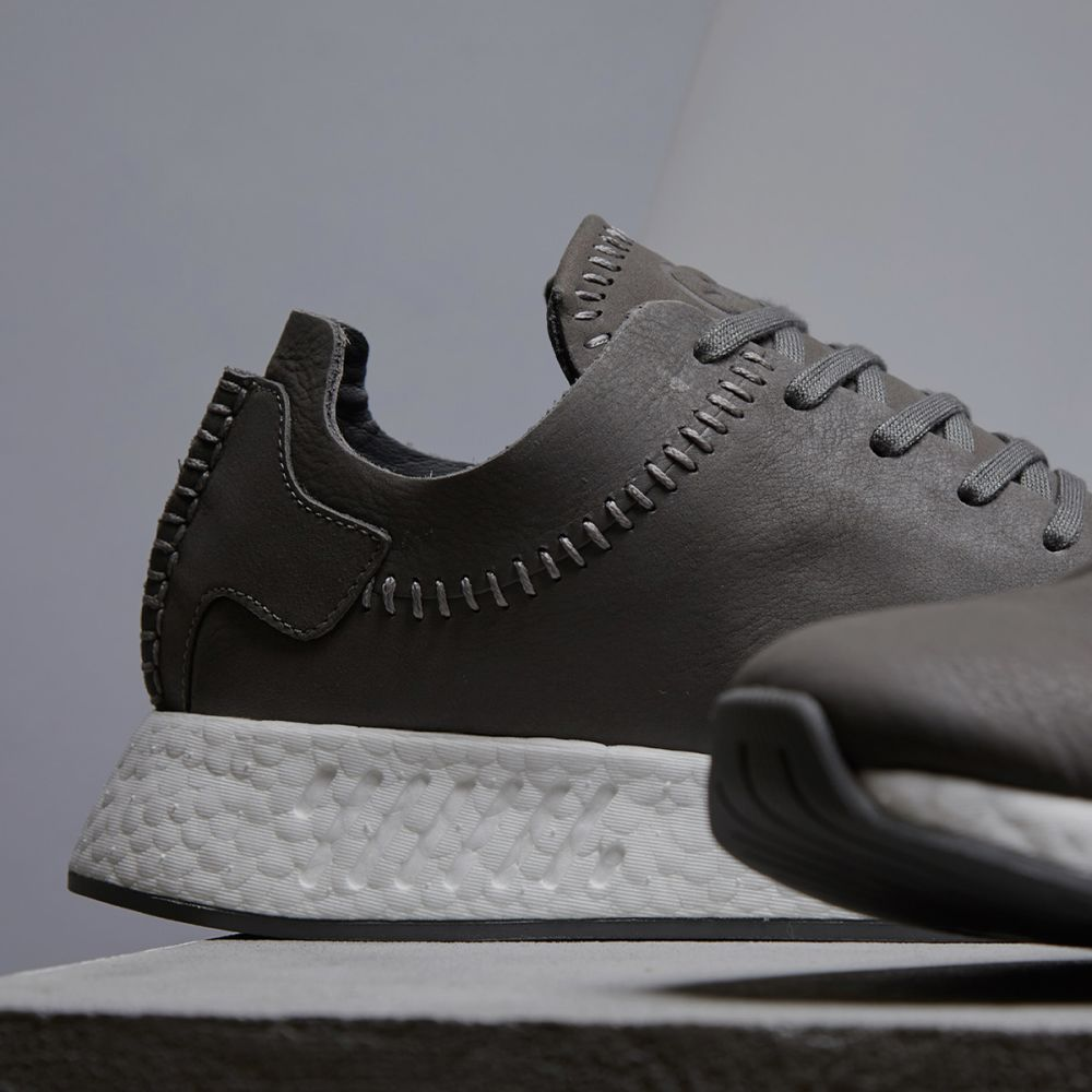 2bc974f25 Adidas x Wings + Horns NMD R2 Ash   Off White