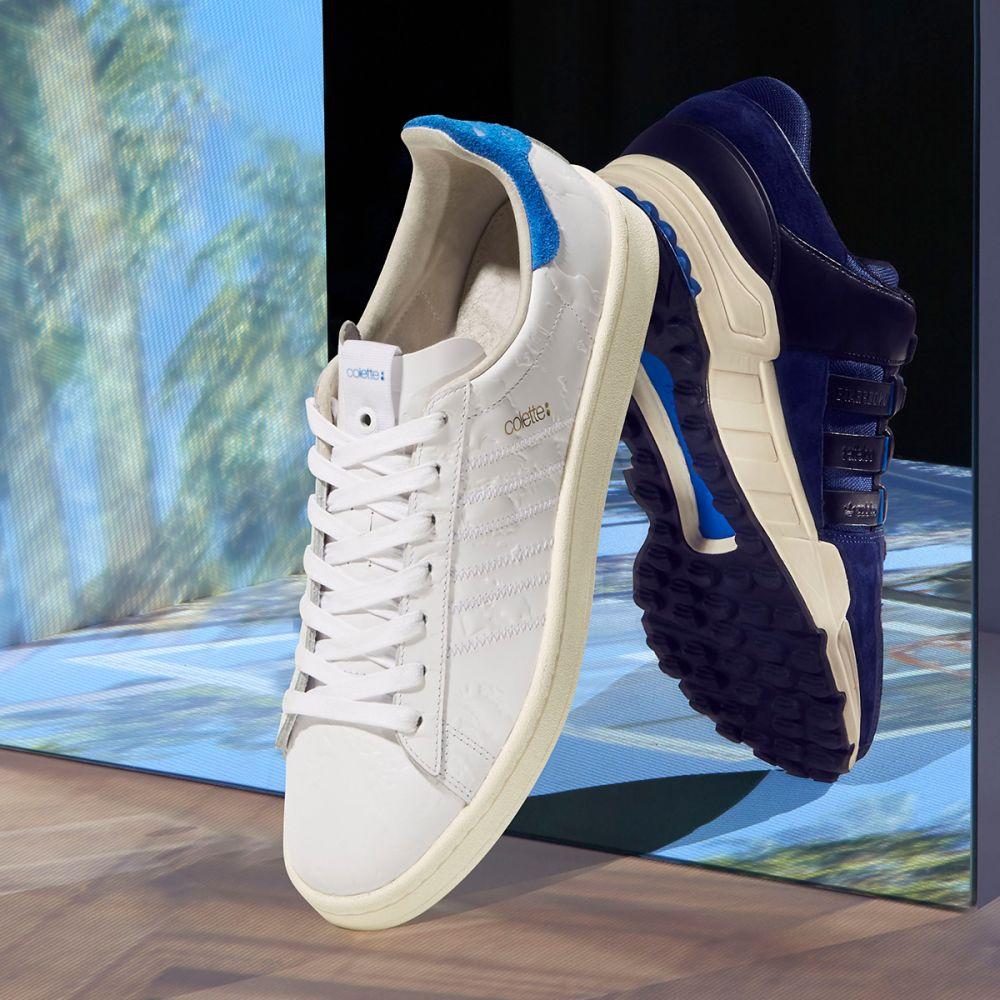 fceab202089f Adidas Consortium x Colette x UNDFTD Campus S.E. White   Blue