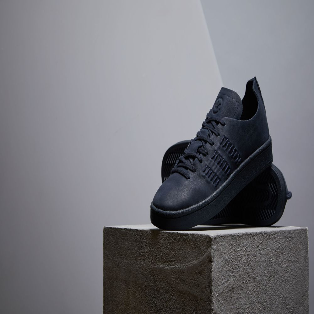 separation shoes 94440 b2dfa Adidas x Wings + Horns Campus. Night Navy