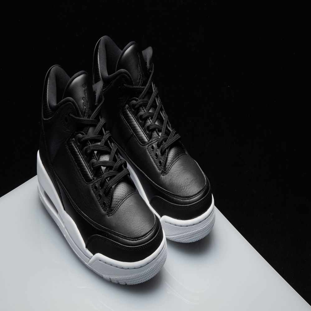 detailed look c6aa5 d3439 Nike Air Jordan 3 Retro Black  White  END.