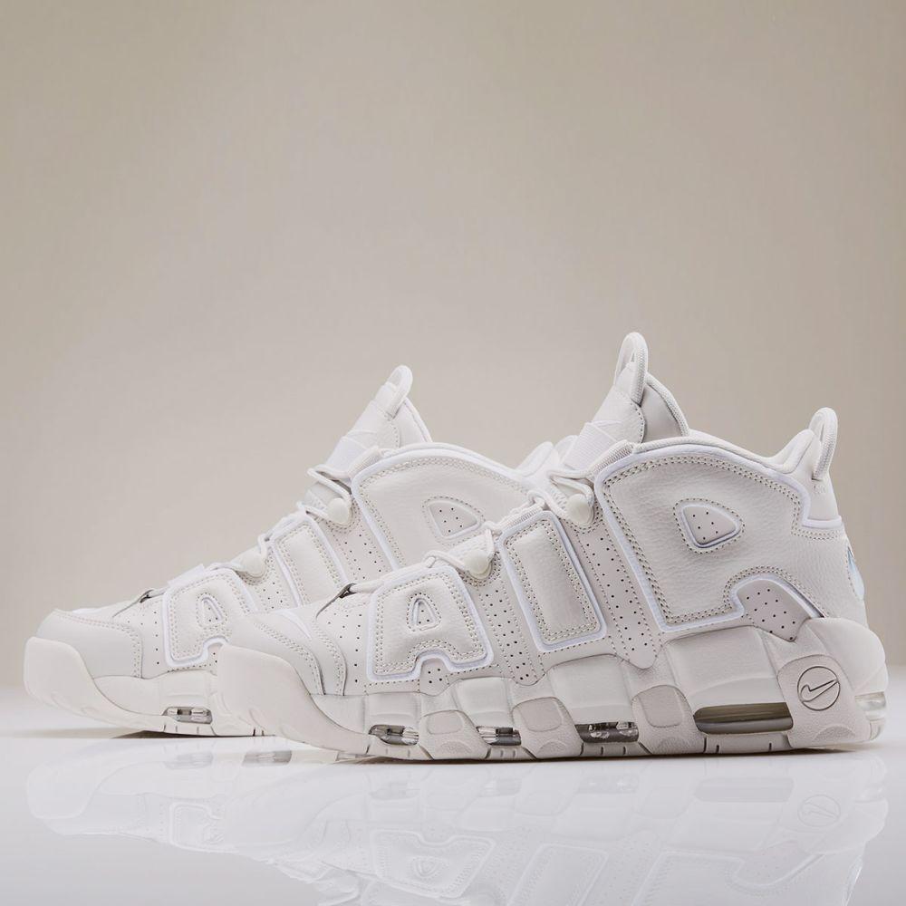 cd0a739876e Nike Air More Uptempo 96 Light Bone   White