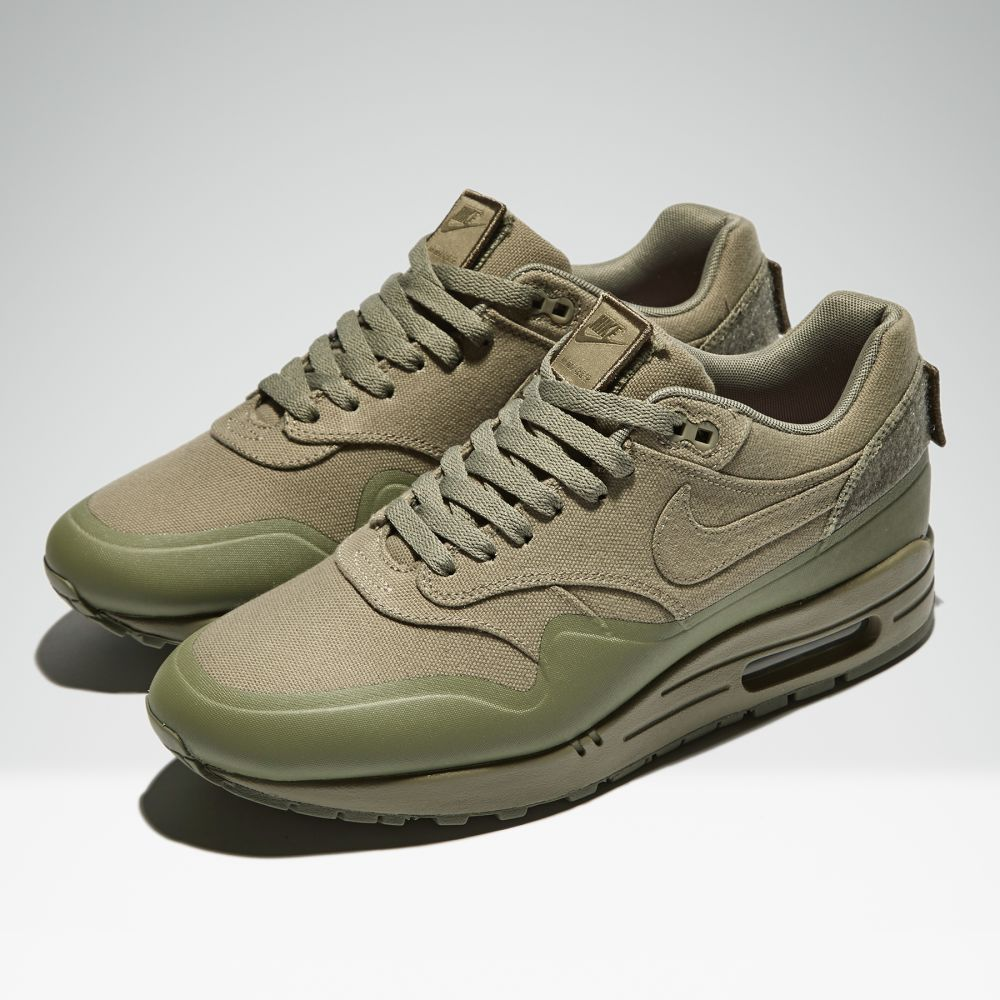 quality design dc496 5ff5f Nike Air Max 1 V SP  Patch  Steel Green   END.