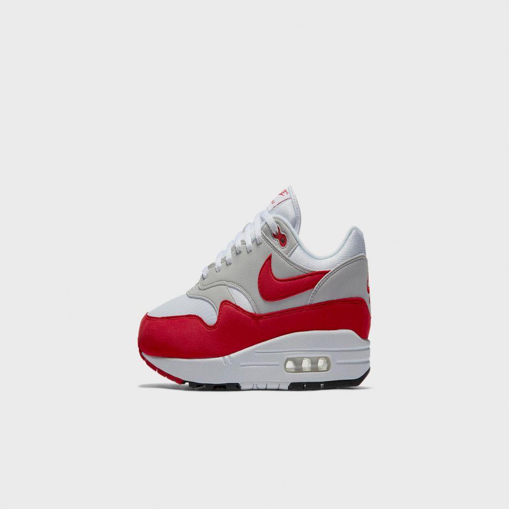 82019b3ec1e3 Nike Air Max 1 Anniversary White   University Red