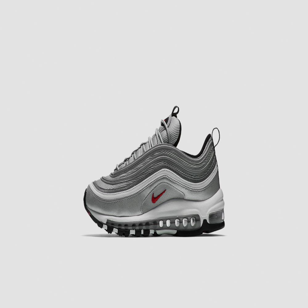 cheap for discount 7b130 9e95d Nike W Air Max 97 OG QS. Metallic Silver  Varsity Red. AU219. image