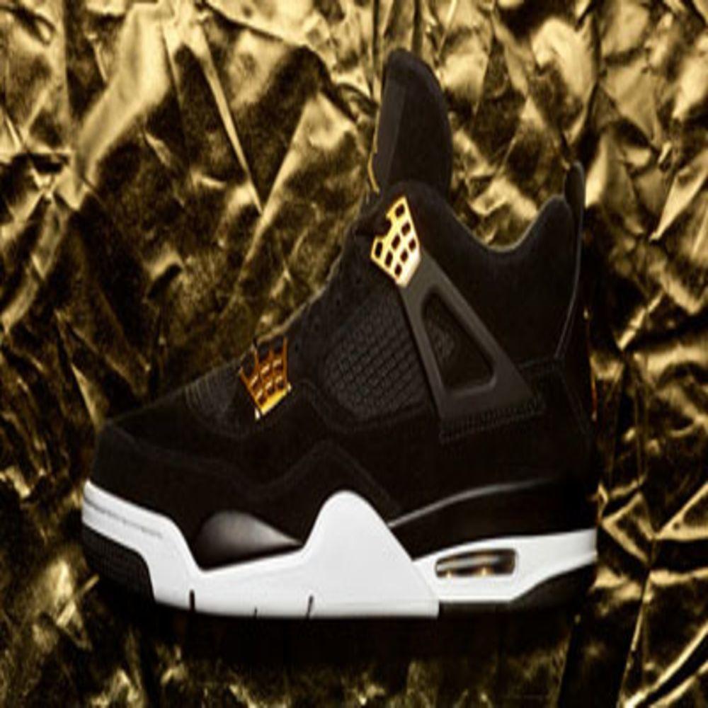 Nike Air Jordan 4 Retro  Royalty  Black 3adc2268b