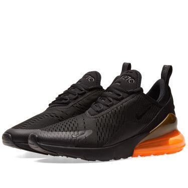 Nike Air Max 270 Black   Total Orange  b286720082