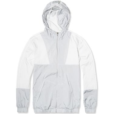 Adidas x Palace Packable Windbreaker 1 Solid Grey   White  ad96bf6c3