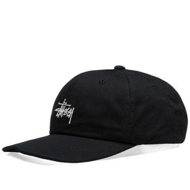 Stussy HO18 Stock Low Pro Cap Black  614f3a80cf39