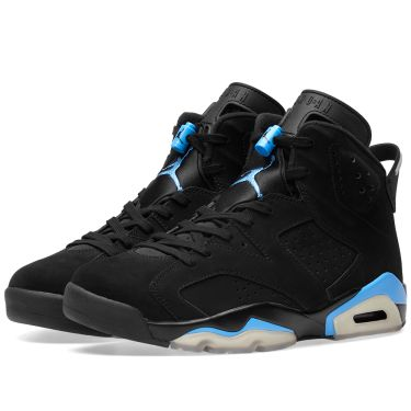 6ac6ae758b8 Nike Air Jordan 6 Retro UNC Black   University Blue