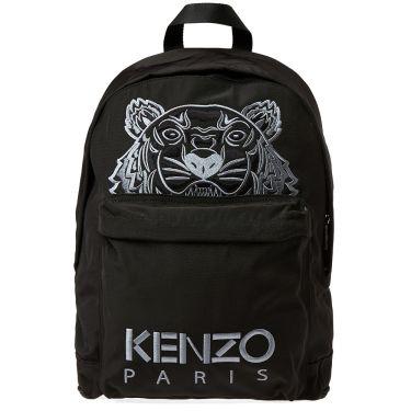 Kenzo Tiger Backpack Black  8f082774f