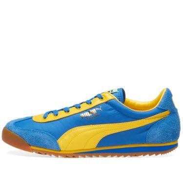 628f8e5c37e2 Puma Tahara OG Stong Blue   Spectre Yellow
