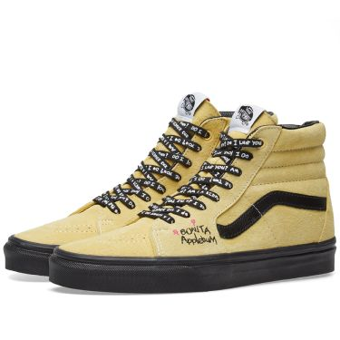Vans x A Tribe Called Quest Sk8-Hi Mellow Yellow   Spectra Yellow  bc5cf13d9