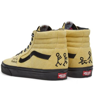 Vans x A Tribe Called Quest Sk8-Hi Mellow Yellow   Spectra Yellow  12741e63b