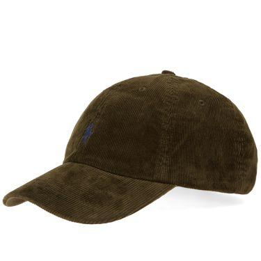 Polo Ralph Lauren Corduroy Cap Company Olive  bf9e3ce1a92