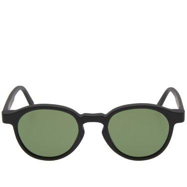 487ba1dbfb SUPER by RETROSUPERFUTURE Iconic Andy Warhol Sunglasses Black Matte ...