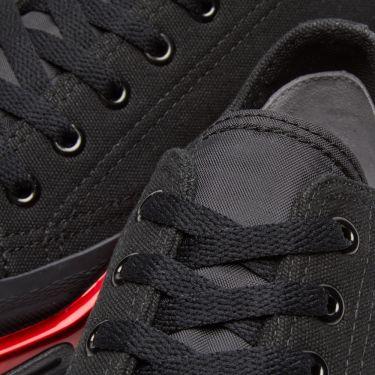 best website 51722 3f4e7 Adidas x Raf Simons Detroit Runner. Core Black   Scarlet