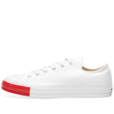Converse x Undercover Chuck Taylor 1970s Ox White   Red  c1aa6550e2