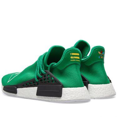Adidas x Pharrell Williams Hu Human Race NMD Green   Running White ... ea20365d3