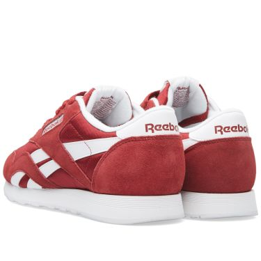 01b9295805b Reebok Classic Nylon Triathlon Red   White