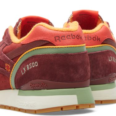 73ac74251de Reebok x Packer Shoes LX 8500 Rugged Maroon   Mulberry