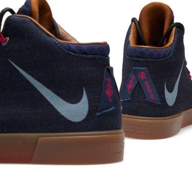 db7fe23cad5c Nike LeBron XII NSW Denim LS QS Midnight Navy