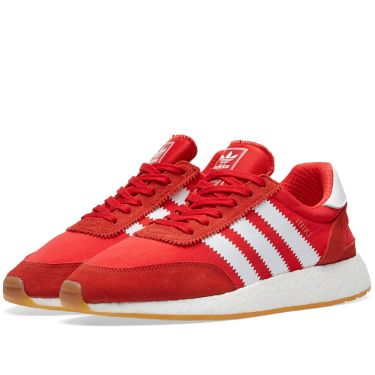 Adidas Iniki Runner Red   White  098afaeb9