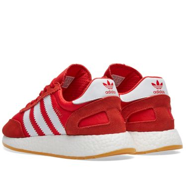 Adidas Iniki Runner Red   White  aac75f428