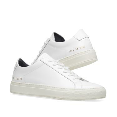 e28b3b7264ff Woman by Common Projects Achilles Low Premium White   Navy