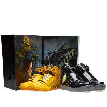 Reebok Alien Stomper Mid  The Final Scene  Yellow   Black  b2f9b6263
