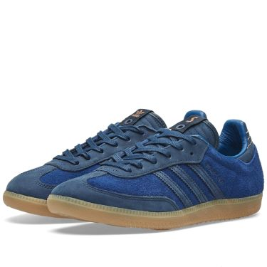the latest b96b2 44b5f Adidas Consortium x Starcow Samba Collegiate Navy  Dark Blue