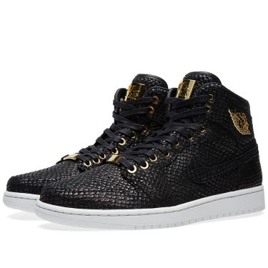 Nike Air Jordan 1 Pinnacle Black   Metallic Gold  e18a7402968c