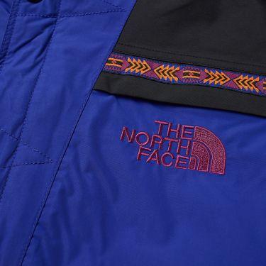 The North Face 92 Retro Rage Rain Jacket Aztec Blue Rage Combo  4d8b031ed