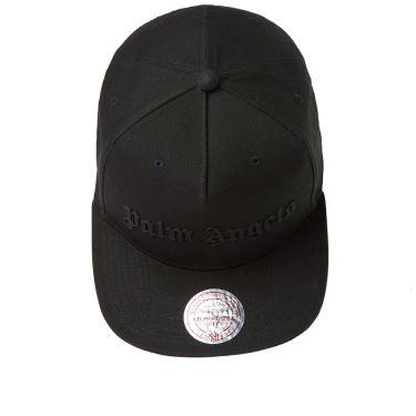 f0c10f6b8b7 Palm Angels Logo Cap Black
