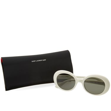 8432e9494e Saint Laurent SL 98 California Sunglasses Ivory   Smoke