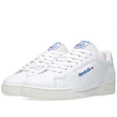 af3e11090b3 Reebok NPC Vintage OG White   Collegiate Royal