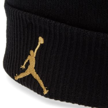 Nike Air Jordan x OVO Cuff Beanie Black   Metallic Gold  b5857155457