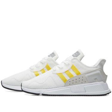 buy popular 4339a 6fd56 Adidas EQT Cushion ADV. White, Yellow  Silver