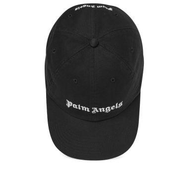 c062aa0b437 Palm Angels Classic Logo Cap Black   White