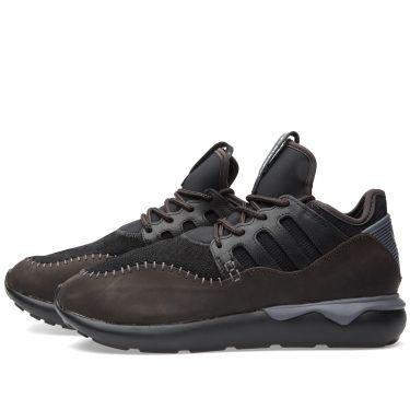 6d094ba8413b09 Adidas Tubular Moc Runner Core Black   Night Brown