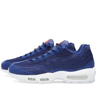 1150d8a0e6d Nike x Stussy Air Max 95 Loyal Blue   White