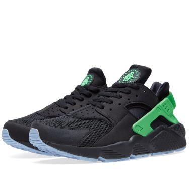 competitive price 72f9b 211ae Nike Air Huarache Run FB 'Poison Green' Black & Poison Green | END.