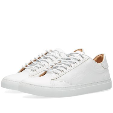 Wings + Horns Leather Low Top Sneakers White  845fc472787d