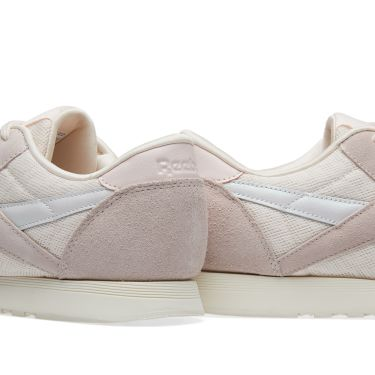 0f8fddd3ad9 Reebok CL Nylon Cold Pastel W Pale Pink   Chalk