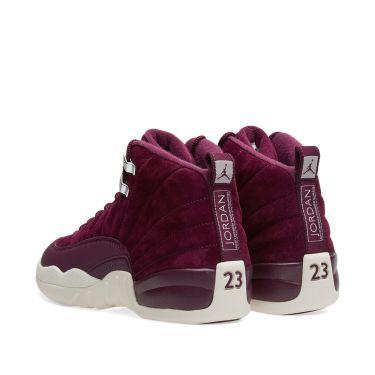 bbd6d217aed0 Nike Air Jordan 12 Retro BG Bordeaux